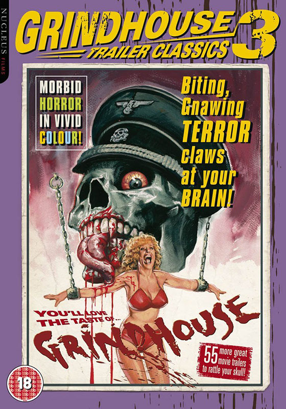 Nerdly grindhouse trailer classics vol 3 dvd review for Classic house mastercuts vol 3