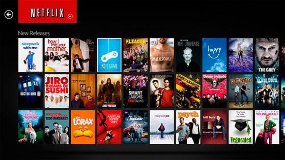 Netflix-browse