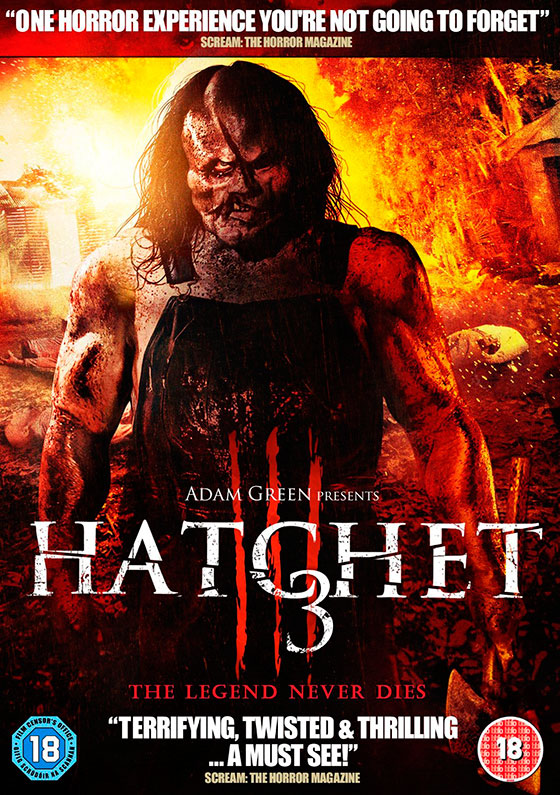 Nerdly » 'Hatchet 3′ DVD Review