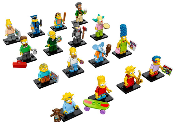 LEGO-Simpons-figures