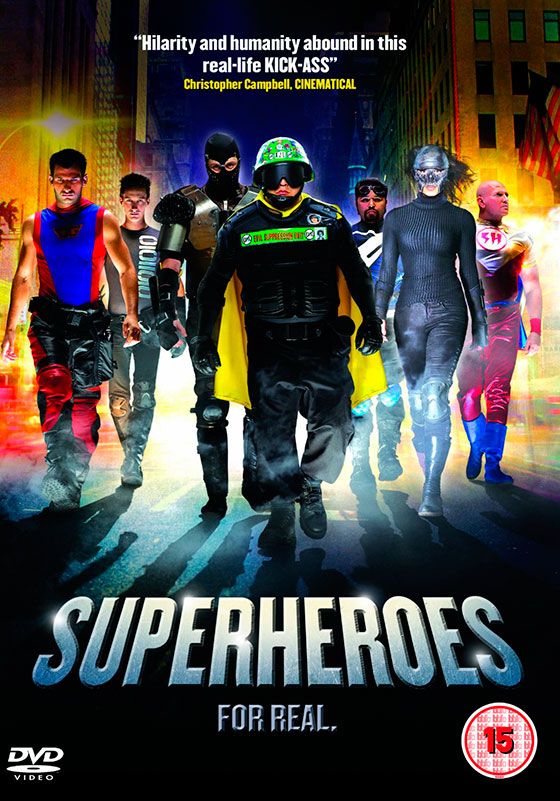 Superheroes-DVD