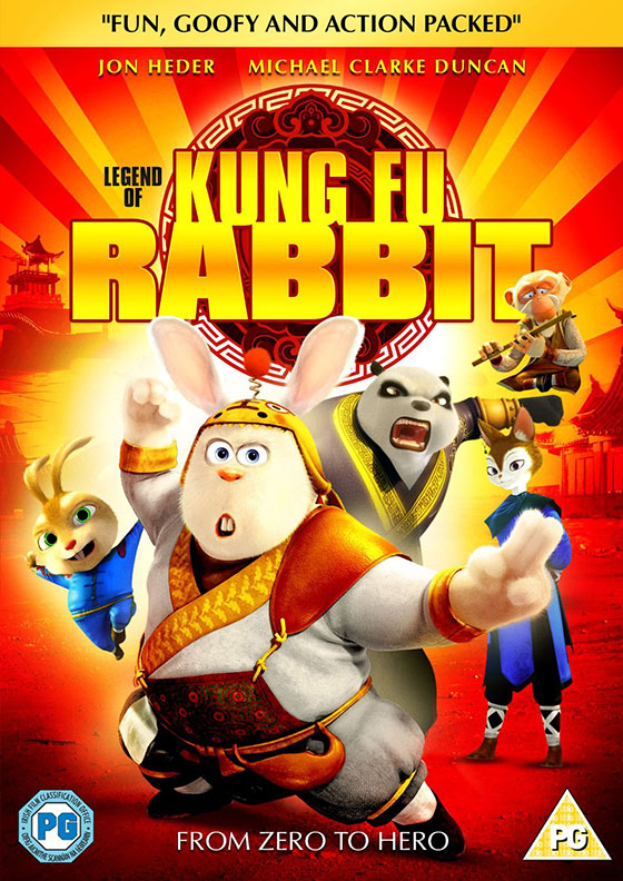 nerdly 187 �the legend of kungfu rabbit� dvd review