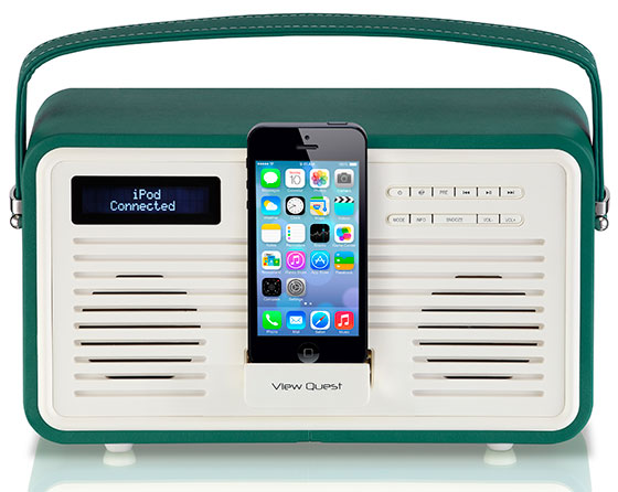View-Quest-Retro-DAB-Radio-GREEN