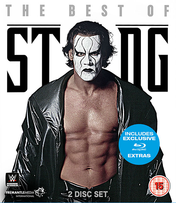 wwe the best of sting blu ray review nerdly