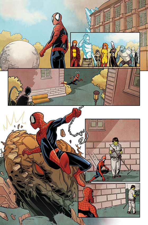 Spider-Man_&_The_X-Men_1_Preview_1
