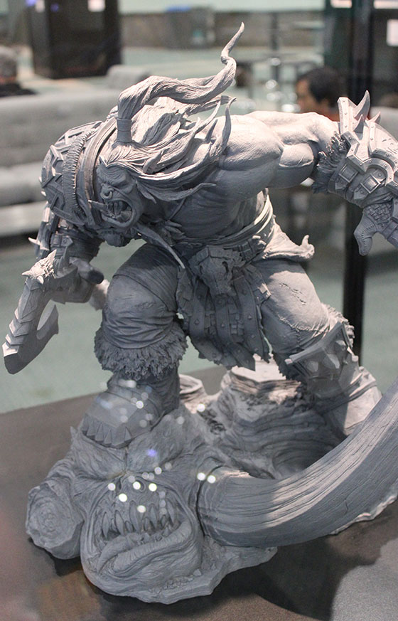 Grommash Maquette from World Of Warcraft, Brian Fay (Artist)