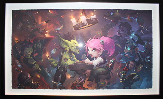 'Gnome versus Goblins from Hearthstone: Heroes of Warcraft' by Laurel Austin