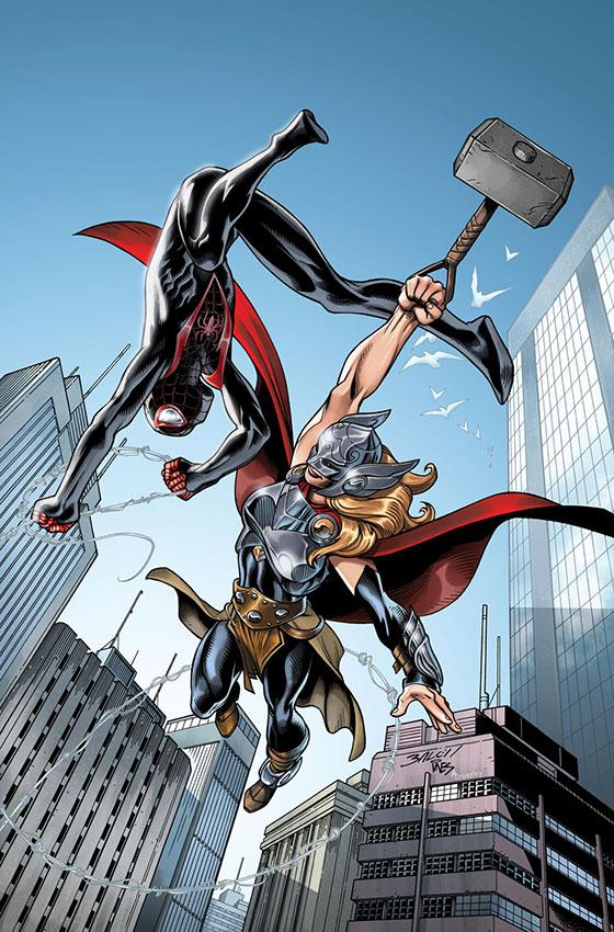Spider-Man_1_Bagley_Variant