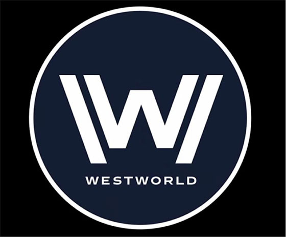 Westworld logo. Review talking about air pistols and episode seven revelations.