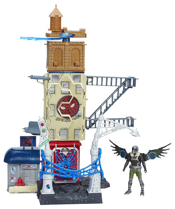 spider-home-playset