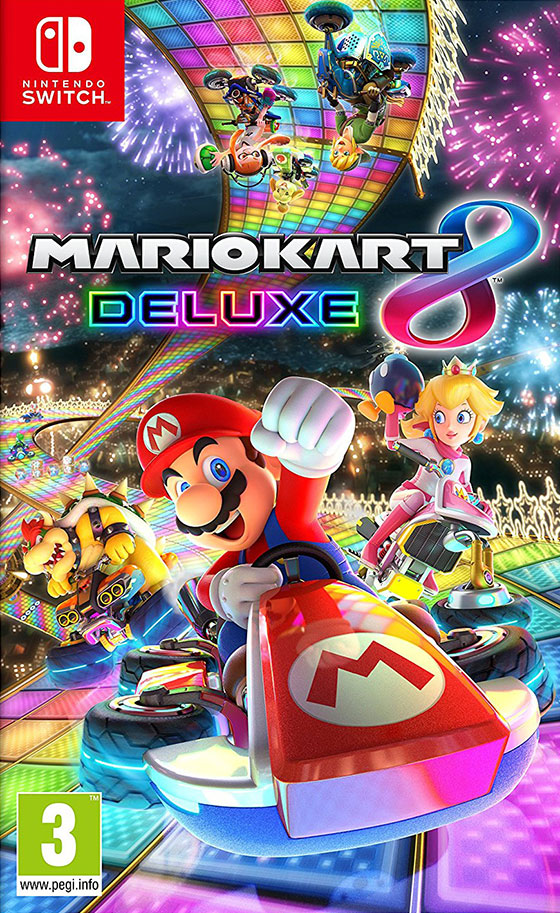 nerdly mario kart 8 deluxe review nintendo switch. Black Bedroom Furniture Sets. Home Design Ideas