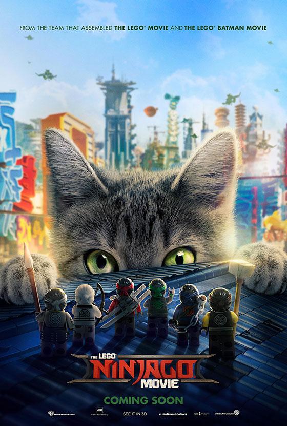 Ninjago-cat-poster