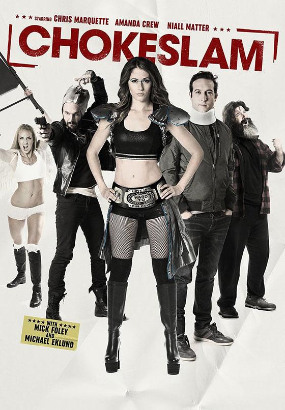 chokeslam-dvd