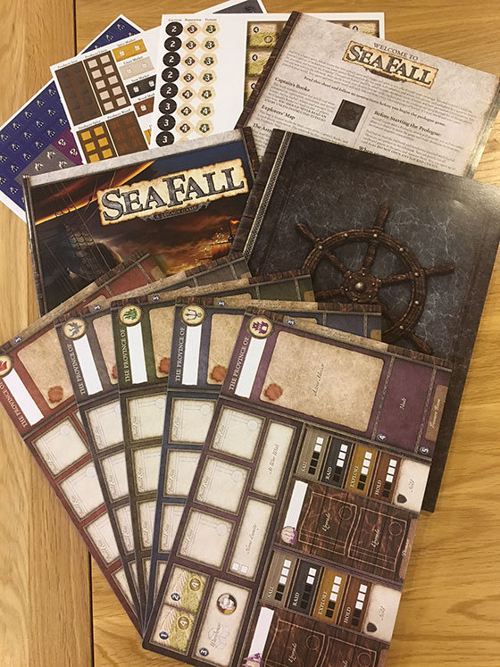 Seafall' Board Game Review | Nerdly