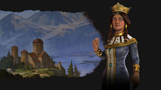 2KGMKT_CivilizationVI-RF_Game-Art_Georgia_Tamar_Bkgrnd