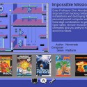 Menu-Impossible-Mission-II