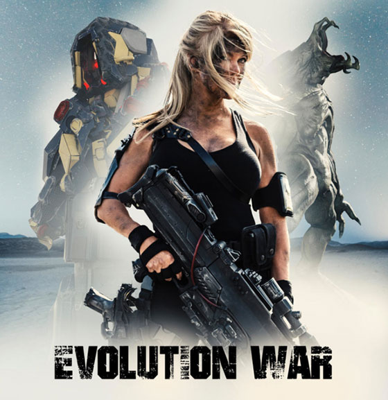 EVOLUTIONWARPOSTER