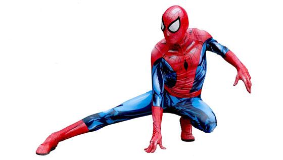 spiderman-posed