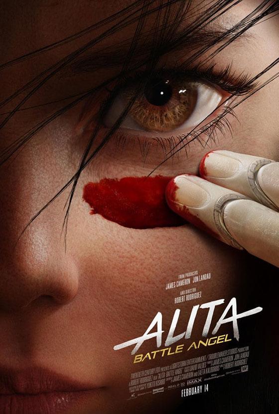 Alita-poster