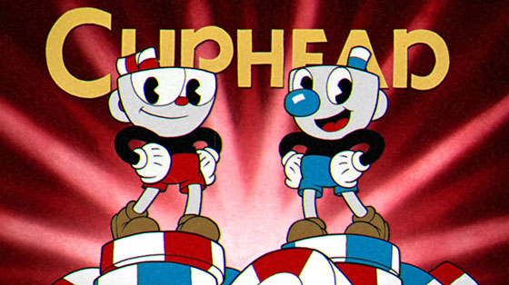 As you can see, Cuphead and Mugman are beautifully drawn and look oh-so-cute - but don't be deceived, the game is wickedly hard.