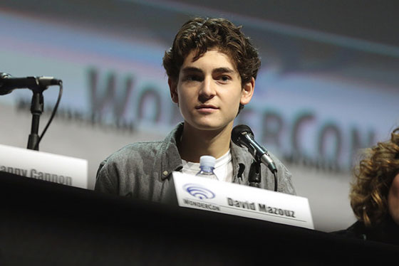 David Mazouz. Photo by Gage Skidmore