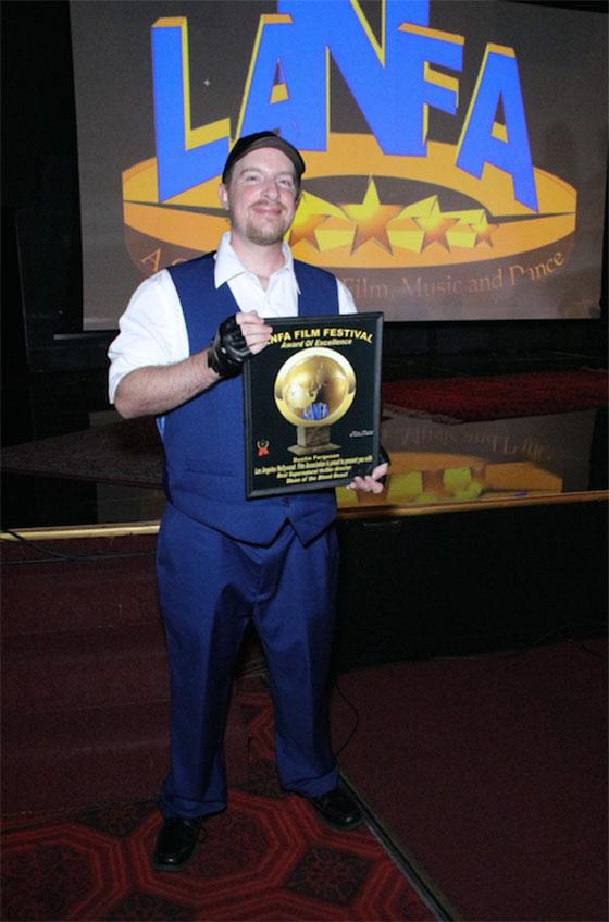 Awardee Dustin Ferguson