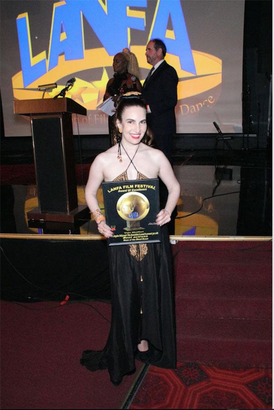 Awardee Vida Ghaffari
