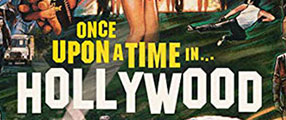 once-time-hollywood-poster-logo