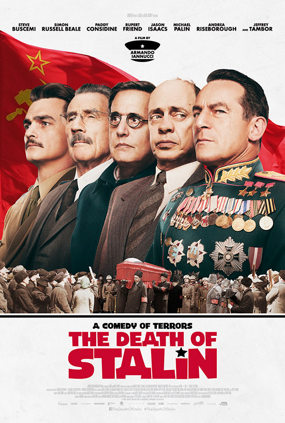 New character posters for Armando Iannucci's 'The Death of Stalin ...